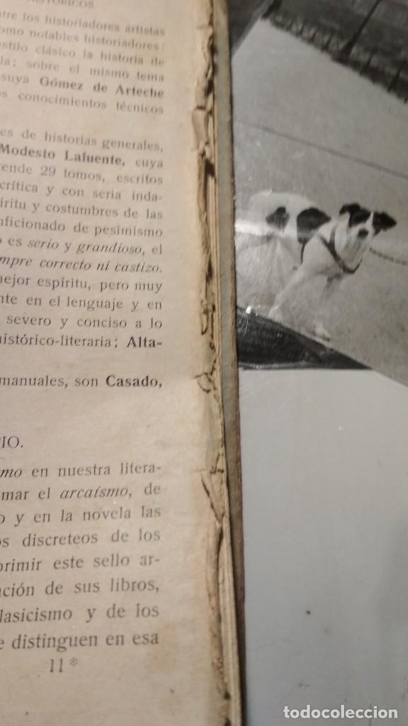 Libros antiguos: COMPENDIO HISTORICO CRITICO DE LA LITERATURA CASTELLANA. HERDER Y CIA LIBREROS FRIBURGO, AÑOS 20 - Foto 6 - 122318083
