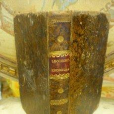 Libros antiguos: LECCIONES ESCOGIDAS PARA LOS NIÑOS QUE APRENDEN A LEER EN LAS ESCUELAS PÍAS. 1.831.. Lote 122340659