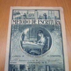 Libros antiguos: CARTILLA DE COLEGIO. MÉTODO DE ESCRITURA. Lote 122919059