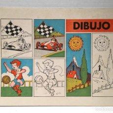 Livres anciens: ANTIGUO CUADERNO DE DIBUJO AÑOS 70. Lote 261155835