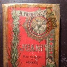 Libros antiguos: JUANITO DE PARRAVICINI. BARCELONA. 1899. Lote 124223848