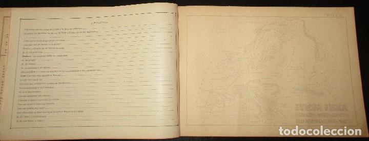 Libros antiguos: LECCIONES PEDAGÓGICAS AVANTE. GEOGRAFÍA DE EUROPA. ANICETO VILLAR. EDITORIAL SALVATELLA. - Foto 4 - 124751631
