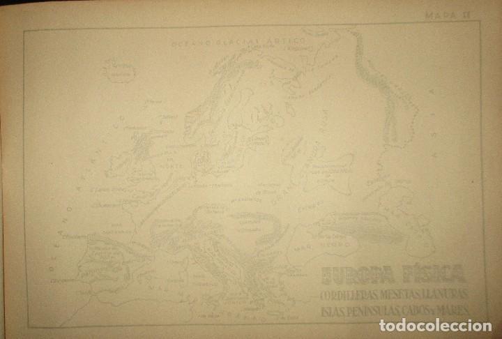 Libros antiguos: LECCIONES PEDAGÓGICAS AVANTE. GEOGRAFÍA DE EUROPA. ANICETO VILLAR. EDITORIAL SALVATELLA. - Foto 5 - 124751631
