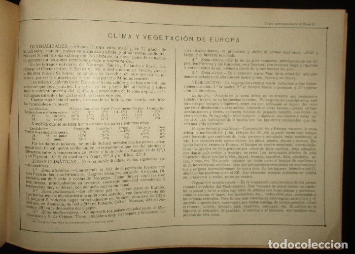 Libros antiguos: LECCIONES PEDAGÓGICAS AVANTE. GEOGRAFÍA DE EUROPA. ANICETO VILLAR. EDITORIAL SALVATELLA. - Foto 6 - 124751631