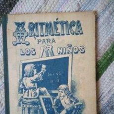 Libros antiguos: LECCIONES FUNDAMENTALES DE ARITMÉTICA PARA LOS NIÑOS. CALLEJA.. Lote 124844843