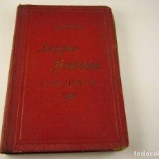 Libros antiguos: LENGUA FRANCESA . CURSO ELEMENTAL A. PERRIER 1906.. Lote 125222823