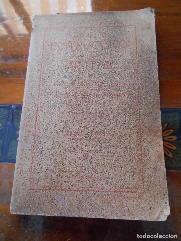 APUNTES DE INSTRUCCIÓN PRIMARIA MILITAR. (Libros Antiguos, Raros y Curiosos - Libros de Texto y Escuela)