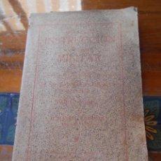 Libros antiguos: APUNTES DE INSTRUCCIÓN PRIMARIA MILITAR.. Lote 125328339