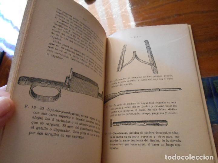 Libros antiguos: APUNTES DE INSTRUCCIÓN PRIMARIA MILITAR. - Foto 8 - 125328339