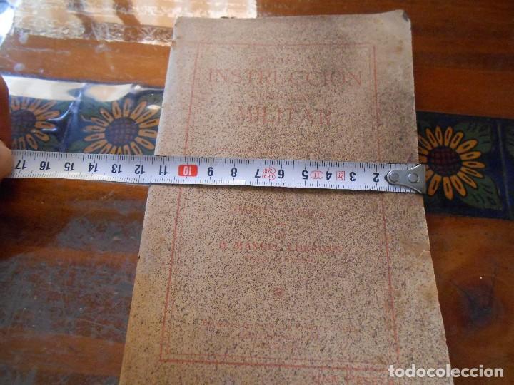 Libros antiguos: APUNTES DE INSTRUCCIÓN PRIMARIA MILITAR. - Foto 17 - 125328339