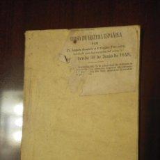 Libros antiguos: CUADERNOS DE LECTURA DESTINADOS A LA ENSEÑANZA DEL ARTE DE LEER, JOAQUÍN AVENDAÑO, 1848. Lote 125350275