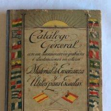 Libros antiguos: LIBRO MATERIAL ENSEÑANZA Y ÚTILES PARA ESCUELAS. COLEGIO. CATALOGO GENERAL 1910. . Lote 125953647