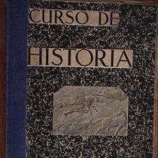 Libros antiguos: CURSO DE HISTORIA. P. AGUADO BLEYE. 1934.. Lote 126154055