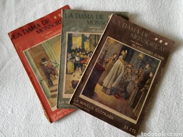 LA DAMA DE MONSOREAU, ALEJANDRO DUMAS (Libros Antiguos, Raros y Curiosos - Libros de Texto y Escuela)