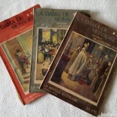 Libros antiguos: LA DAMA DE MONSOREAU, ALEJANDRO DUMAS. Lote 126358778