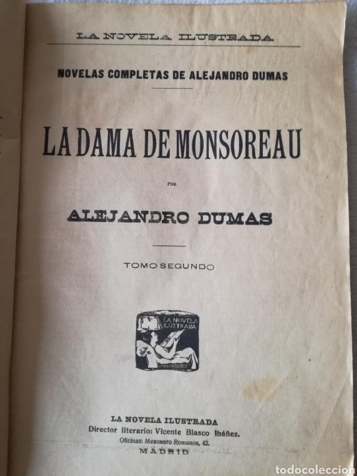 Libros antiguos: LA DAMA DE MONSOREAU, ALEJANDRO DUMAS - Foto 3 - 126358778