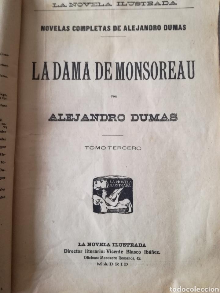Libros antiguos: LA DAMA DE MONSOREAU, ALEJANDRO DUMAS - Foto 4 - 126358778