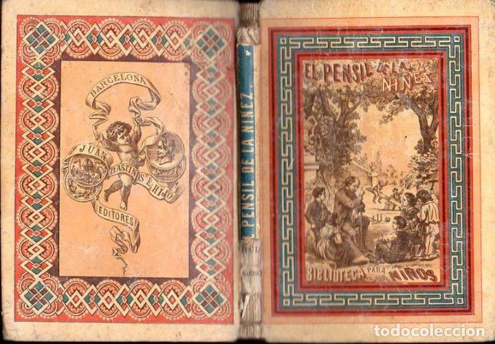 EL PENSIL DE LA NIÑEZ TOMO III (BASTINOS, 1866) (Libros Antiguos, Raros y Curiosos - Libros de Texto y Escuela)