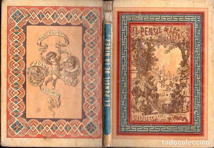 EL PENSIL DE LA NIÑEZ TOMO IV (BASTINOS, 1867) (Libros Antiguos, Raros y Curiosos - Libros de Texto y Escuela)