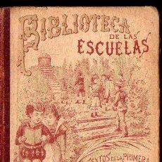 Libros antiguos: BIBLIOTECA DE LAS ESCUELAS GRAMÁTICA CASTELLANA (CALLEJA, 1900). Lote 159454914