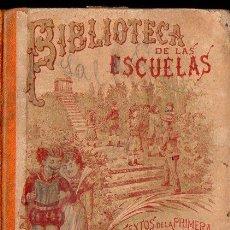 Livres anciens: BIBLIOTECA DE LAS ESCUELAS GEOMETRÍA (CALLEJA, 1898). Lote 126583343