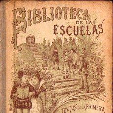Libros antiguos: BIBLIOTECA DE LAS ESCUELAS LA TIERRA ESTUDIO GEOGRÁFICO (CALLEJA, 1900). Lote 126583467