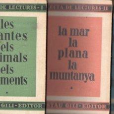 Libros antiguos: ARTUR MARTORELL BISBAL : SELECTA DE LECTURES - 3 VOLUMS (GUSTAU GILI, 1934) CATALÁN. Lote 126998463