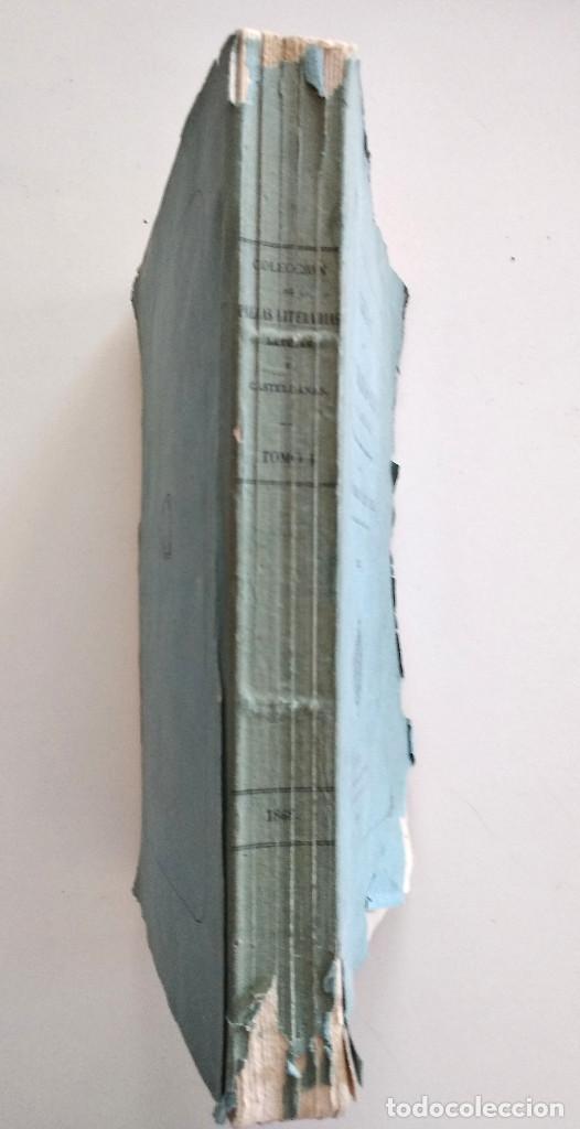 Libros antiguos: COLECCIÓN DE PIEZAS LITERARIAS SELECTAS LATINAS Y CASTELLANAS - TOMO I - MADRID, 1868 - Foto 2 - 128253139