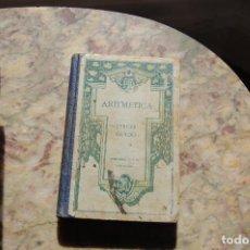Libros antiguos: ARITMETICA TERCER GRADO. EDIT. FTD. 1924. TAPA DURA.. Lote 128366067