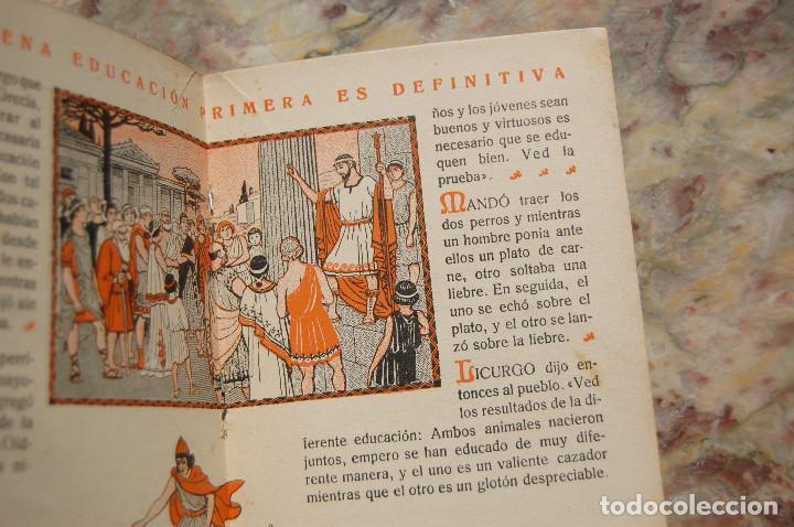 Libros antiguos: CARTILLA MODERNA DE URBANIDAD. EDIT. FTD. 1929. TAPA RUSTICA. - Foto 4 - 128366667