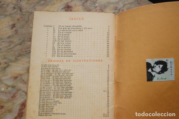Libros antiguos: CARTILLA MODERNA DE URBANIDAD. EDIT. FTD. 1929. TAPA RUSTICA. - Foto 5 - 128366667
