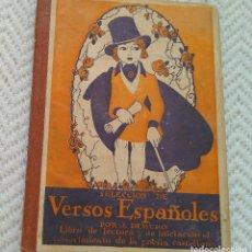 Libros antiguos: J. DEMURO LIBRO DE LECTURA. SELECCIÓN DE VERSOS ESPAÑOLES ED. VIUDA DE JUAN ORTÍZ. MADRID 1941. Lote 128557903