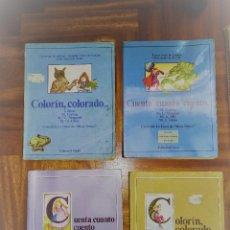 Livres anciens: 4 LIBROS DE EGB. Lote 128684355