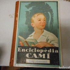 Libros antiguos: ENCICLOPÈDIA CAMI - GRAU ELEMENTAL. Lote 128959123