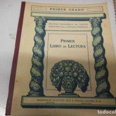 Libros antiguos: PRIMER GRADO - PRIMER LIBRO DE LECTURA - INDUSTRIAS GRAFICAS SEIX Y BARRAL. Lote 128963159