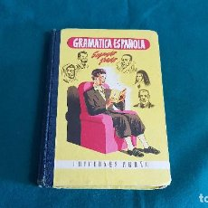 Libros antiguos: GRAMATICA ESPAÑOLA SEGUNDO GRADO (1958) ED. BRUÑO. Lote 129016271
