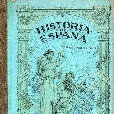Libros antiguos: HISTORIA DE ESPAÑA SEGUNDO CURSO BRUÑO 1929. Lote 129118983