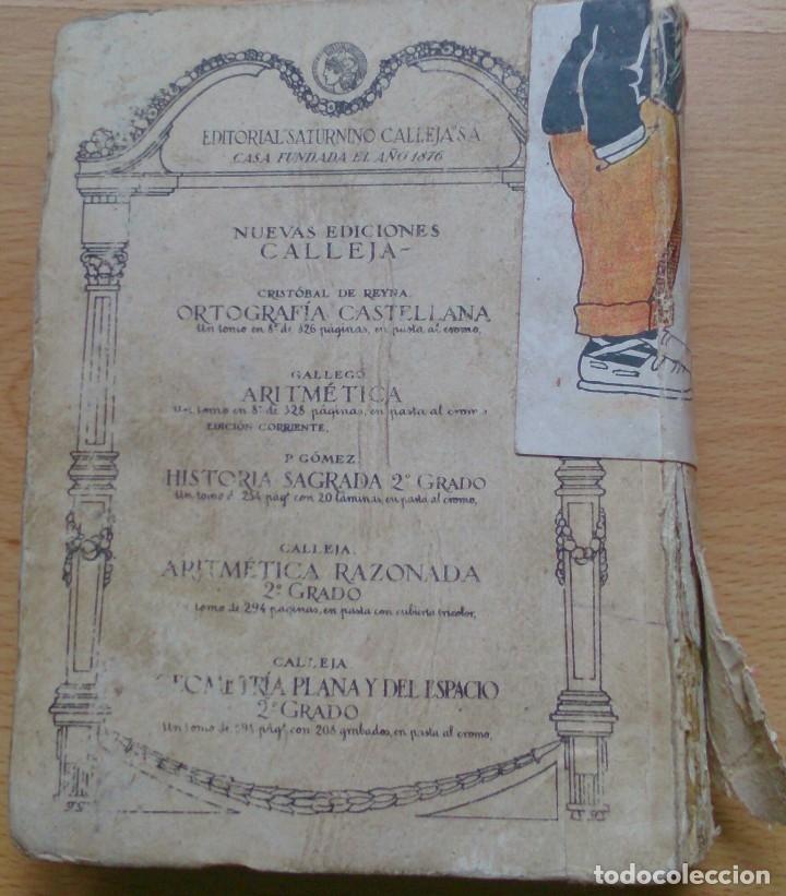 Libros antiguos: Libro antiguo Tesoro de Las Escuelas editorial Saturnino Calleja SA - Foto 3 - 129689379