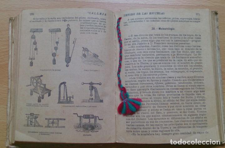Libros antiguos: Libro antiguo Tesoro de Las Escuelas editorial Saturnino Calleja SA - Foto 5 - 129689379