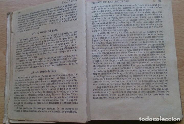 Libros antiguos: Libro antiguo Tesoro de Las Escuelas editorial Saturnino Calleja SA - Foto 6 - 129689379