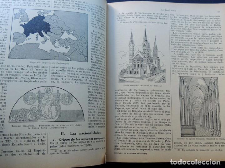 Libros antiguos: RESUMEN HISTORIA UNIVERSAL / EDICION ECONOMICA - ESCUELA PRIMARIA / SEIX Y BARRAL AÑO 1936 /SIN USAR - Foto 2 - 130553802