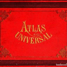 Libros antiguos: ATLAS UNIVERSAL PALUZIE 1912. Lote 130615014