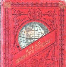 Libros antiguos: ATLAS UNIVERSAL PALUZIE 1896. Lote 130615330