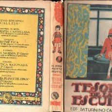 Libros antiguos: TESORO DE LAS ESCUELAS CALLEJA. Lote 131105168