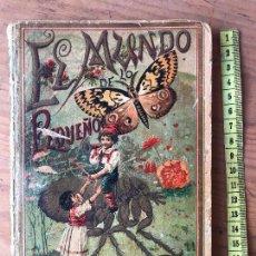 Libros antiguos: EL MUNDO DE LO PEQUEÑO 1901 (PRODIGIOS DEL MICROSCOPIO) D. ROQUE GÁLVEZ Y ENCINAR, 66 GRABADOS . Lote 131131472