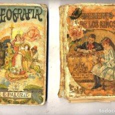 Libros antiguos: LIBROS DE ESCUELA LOTE 12 LIBROS - OCASION. Lote 131581834
