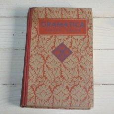 Libros antiguos: GRAMATICA ESPAÑOLA - EDELVIVES TERCER GRADO - 1935. Lote 132014010
