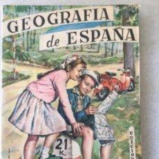 Livres anciens: GEOGRAFIA DE ESPAÑA. AÑO 1962. Lote 132308086