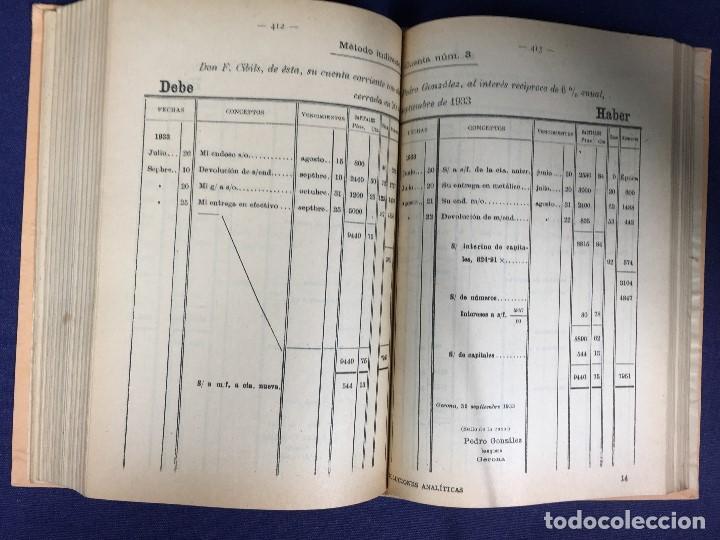 Libros antiguos: SOLUCIONES ANALÍTICAS ejercicios problemas aritmética álgebra Jose Dalmau Carles 1899 - Foto 7 - 133078750