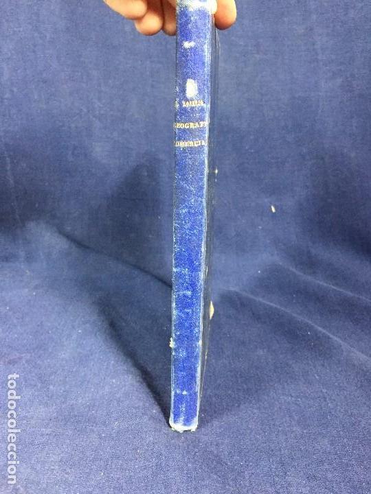 Libros antiguos: Lecciones Geografía comercial estadística Miguel Marcos Lorenzo cuaderno primero 1894 - Foto 3 - 133189686